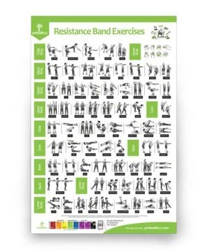 Resistance Band Exercises Poster