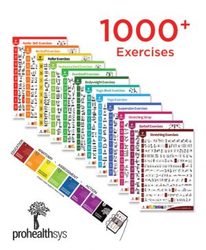 Exercise Posters 12 Pack