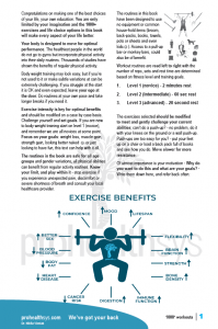1000 No Gym Workouts Textbook sample page