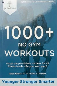 1000+ No Gym Workouts Textbook Cover