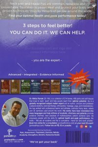 Head & Neck Pain Textbook Back Cover