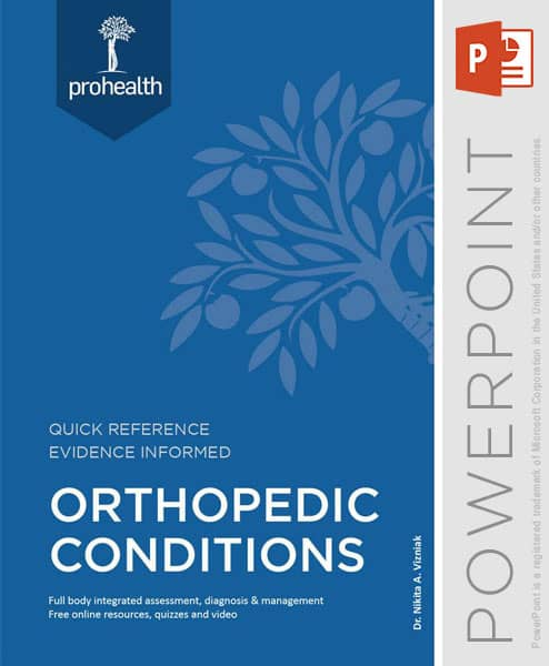 orthopedic conditions powerpoint
