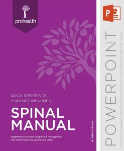 spinal manual powerpoint