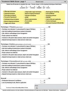 Skill Check Treatment