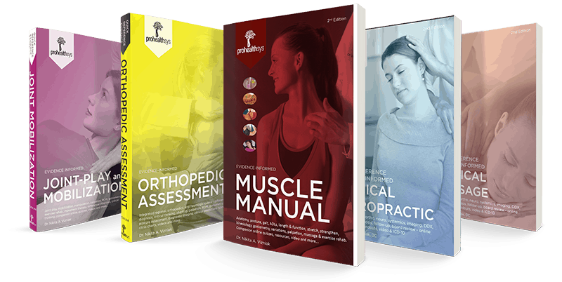 books for physical therapists chiropractors massage therapists