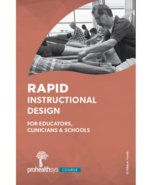 Rapid Instructional Design for Educators, Clinicians and Schools