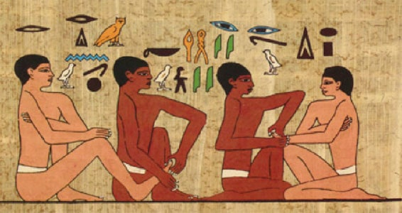 ancient Egyptian Tomb of Akmanthor
