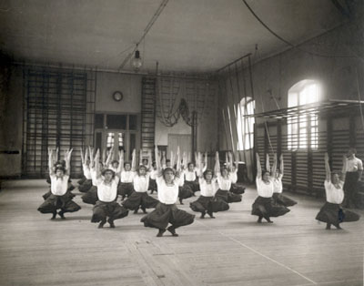 Swedish Gymnastics at the Royal Gymnastics Central Institute in Stockholm, c. 1900