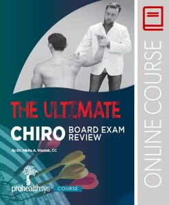 Ultimate Chiropractic Board Examination Review Online Course