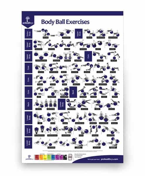 Body Ball Exercises poster