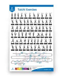Taichi Exercises Poster
