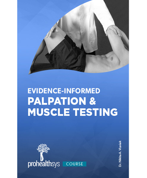 0110 – Evidence Informed Palpation and Muscle Testing