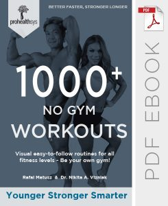1000+ No Gym Workout Ebook