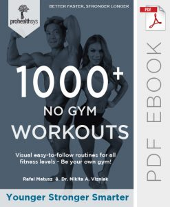 1000+ No Gym Workout Ebook
