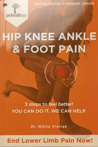 Hip Knee Ankle & Foot Pain Textbook Front Cover