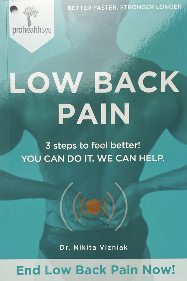 Low Back Pain Textbook Front Cover