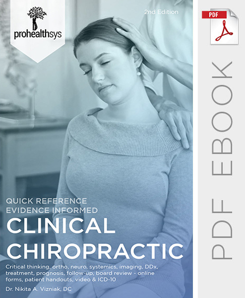 Clinical Chiropractic ebook