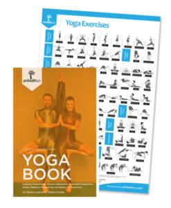 Yoga Book + Yoga Exercises Poster