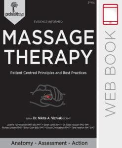 Massage Therapy WebBook