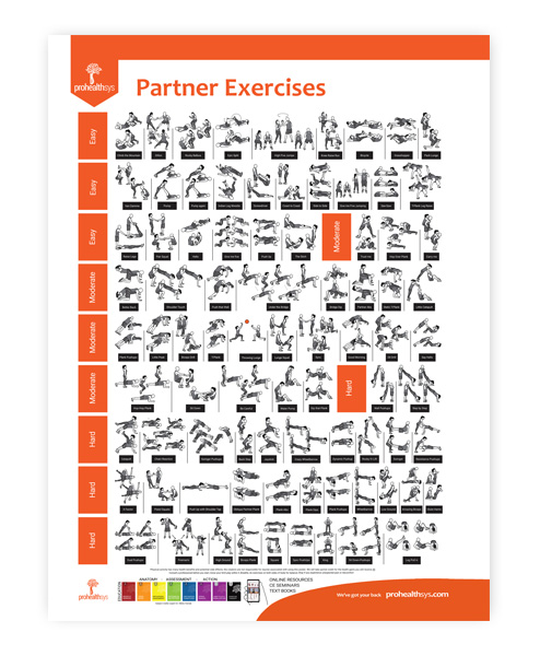 Partner Exercises Poster
