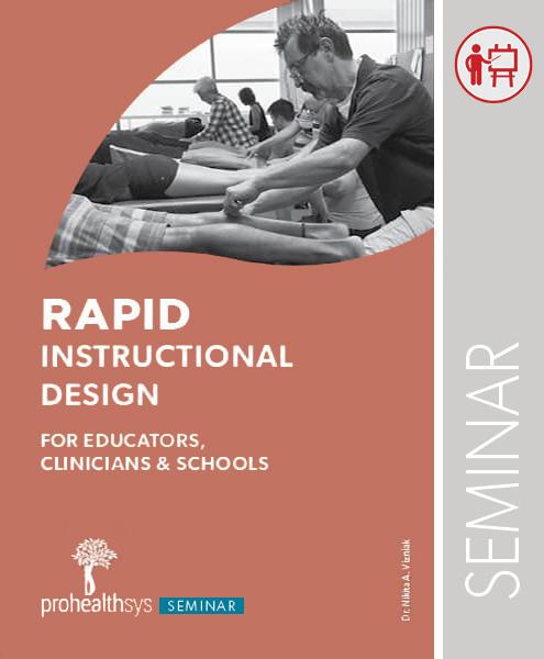 Seminar: Rapid Instructional Design