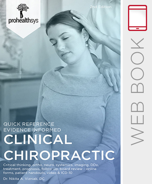 Clinical Chiropractic WebBook