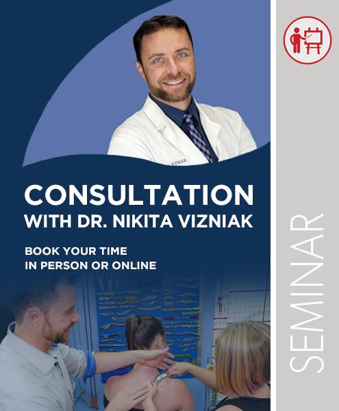 In Person or Online Consultation with Dr. Nikita Vizniak